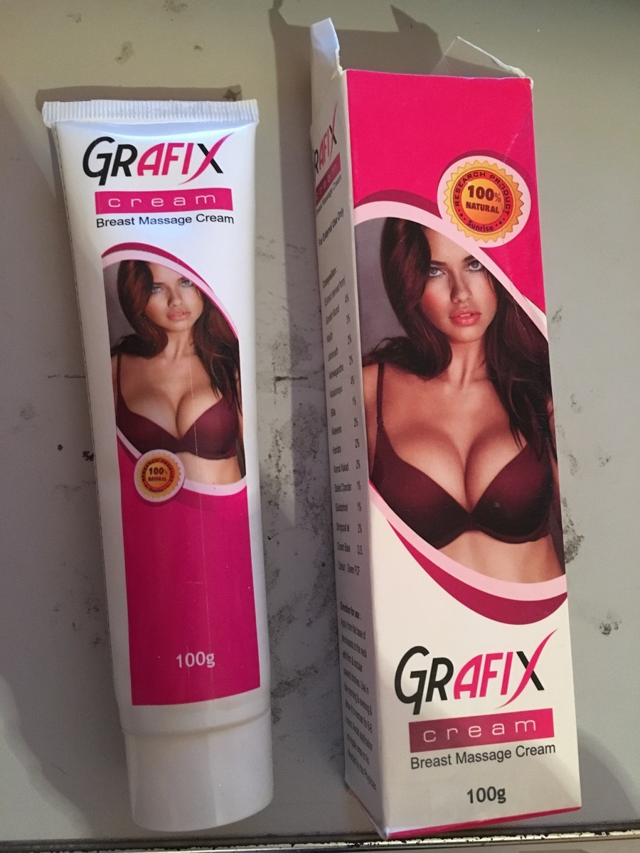 Grafix 100 mg (Breast Enhancement Herbal Cream)