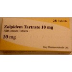 Zolpidem Tartrate 10 mg by Key Pharma T