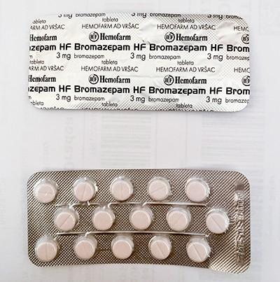 Bromazepam Hemofarm 3 mg