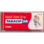 Tadacip (Generische Cialis) 20mg