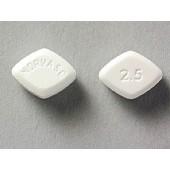 Generic Norvasc 2,5 mg