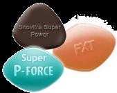 Eiaculazione Precoce Pacco (Snovitra Super Power, Super P-Force, Malegra-FXT)