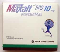 Maxalt Genérico Rizatriptán 5 mg