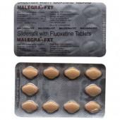 Malegra FXT (Sildenafilo + Fluoxetina) 100/60 mg