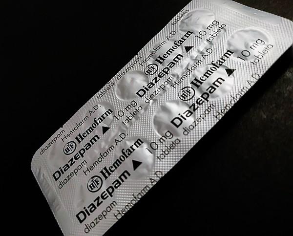 Diazepam 10 mg by Hemofarm