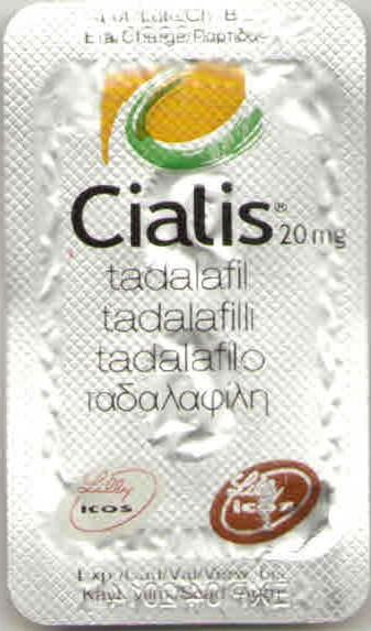 Оригинальный  Сиалис 20 мг Lilly