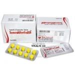 Super Vikalis VX – Tadalafil + Dapoxetine