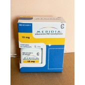 Generic Reductil (Meridia, Ectivia) 15 mg - packing 90 pills